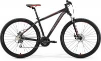 Велосипед горный Merida BIG.NINE 20-MD Matt black/silver/red